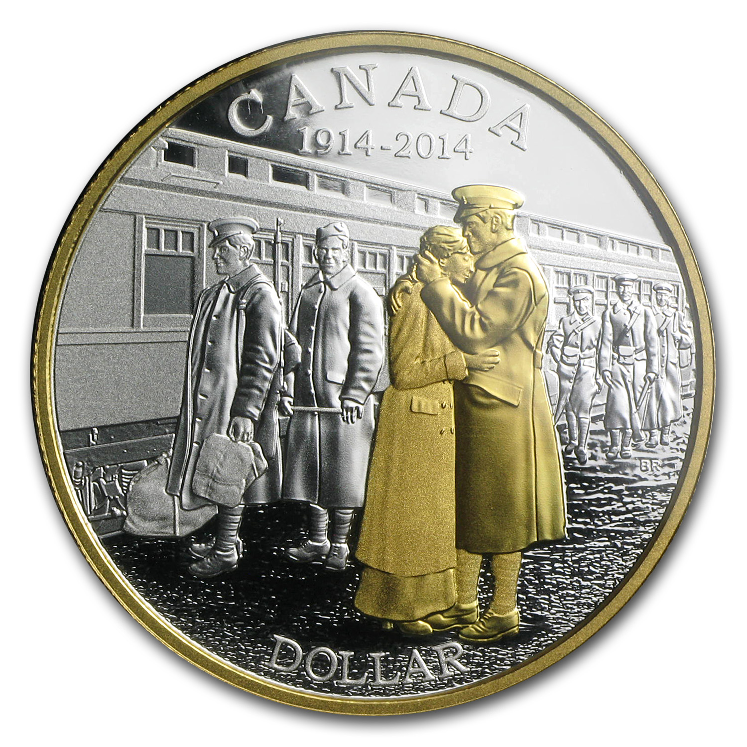 2014 Canada 7-Coin 100th Anniv. of the Declaration of WW1 Set